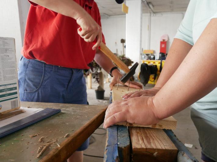 Werkstatt in der Garage Grande