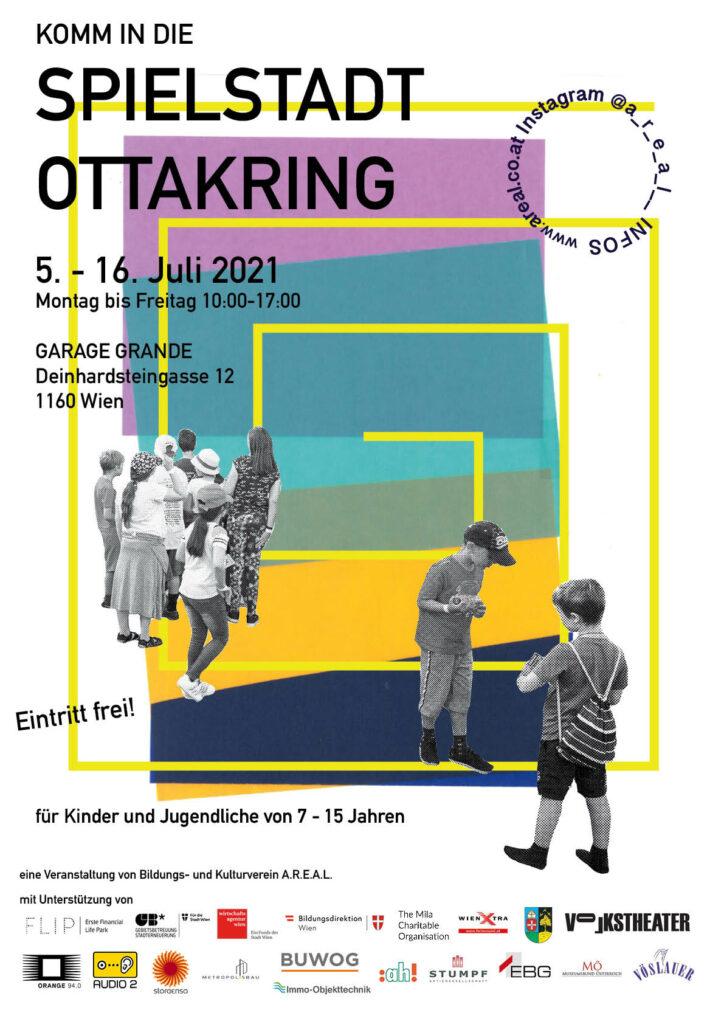 Spielstadt Ottakring 21 Poster aktuell