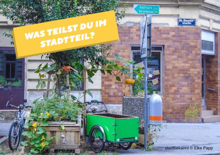 """Mitmach-Ausstellung """"Teilen und Tauschen im Stadtteil"""""""